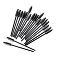 厂家供应25支装一次性睫毛刷子 黑色睫毛卷 美容工具 1