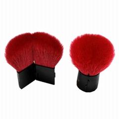 廠家供應新款二合一 便攜款開關粉刷腮紅刷