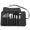 新妍美黑色11支化妆套刷美容工具化妆刷OEM工厂