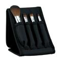 廠家新妍美化妝刷供應黑色折疊包迷你4支裝小套刷