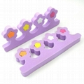 XINYANMEI Supply Colorful Toe Separator   cosmetic tool