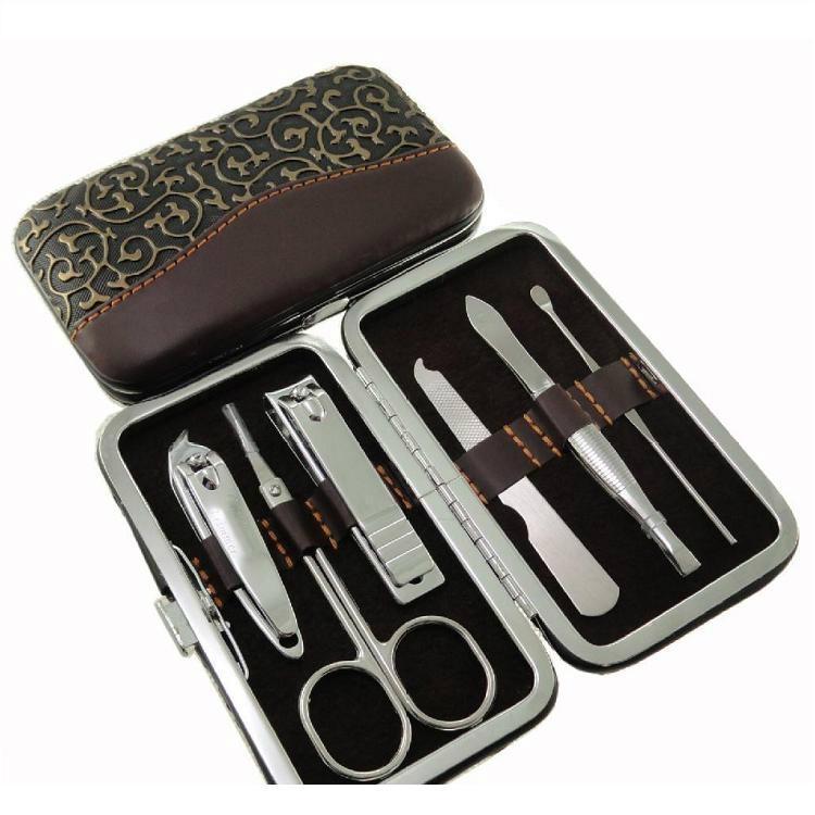 新妍美供應11支裝不鏽鋼美甲套裝 美容美妝工具 3