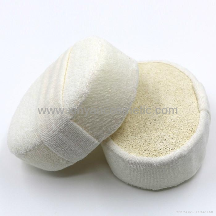 Personal Care Imported Pure Natural Soybean Fiber Ellipse Body Wash Bath Tool 1