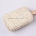 Sponge Loofah Bath Tool Linen Bath Sponge Bath Towel Spa Tools