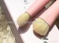 廠家OEM動物毛粉色立體刷頭四支套刷