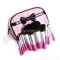 Manufacturer OEM A variety of colors Mini portable Cosmetic brush sets