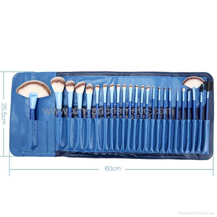 Manufactury Supply 21PCS Makeup Brush Set  shenzhen OME brush  factry 4