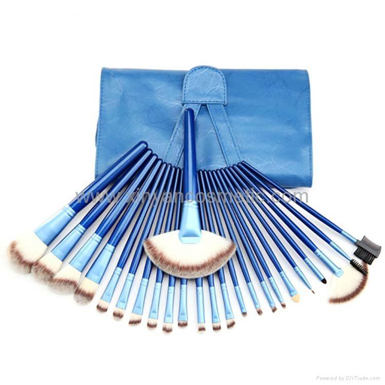 Manufactury Supply 21PCS Makeup Brush Set  shenzhen OME brush  factry 1