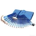 Manufactury Supply 21PCS Makeup Brush Set  shenzhen OME brush  factry 2