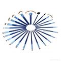 Manufactury Supply 21PCS Makeup Brush Set  shenzhen OME brush  factry 5