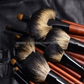 Manufactury Supply Pro12PCS Goat hair sable hair Makeup Brush Set  Can OEM/ODM 6