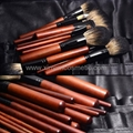Manufactury Supply Pro12PCS Goat hair sable hair Makeup Brush Set  Can OEM/ODM 7