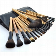Makeup Brush Set A portable Horsehair Brush Set 24 Sets Of Cosmetic Brush Sets