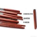 廠家供應專業高檔紅木柄化妝套刷 可定製 5
