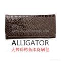 厂家供应旅行便携式10PCS化妆套刷+鳄鱼纹PU化妆包 9
