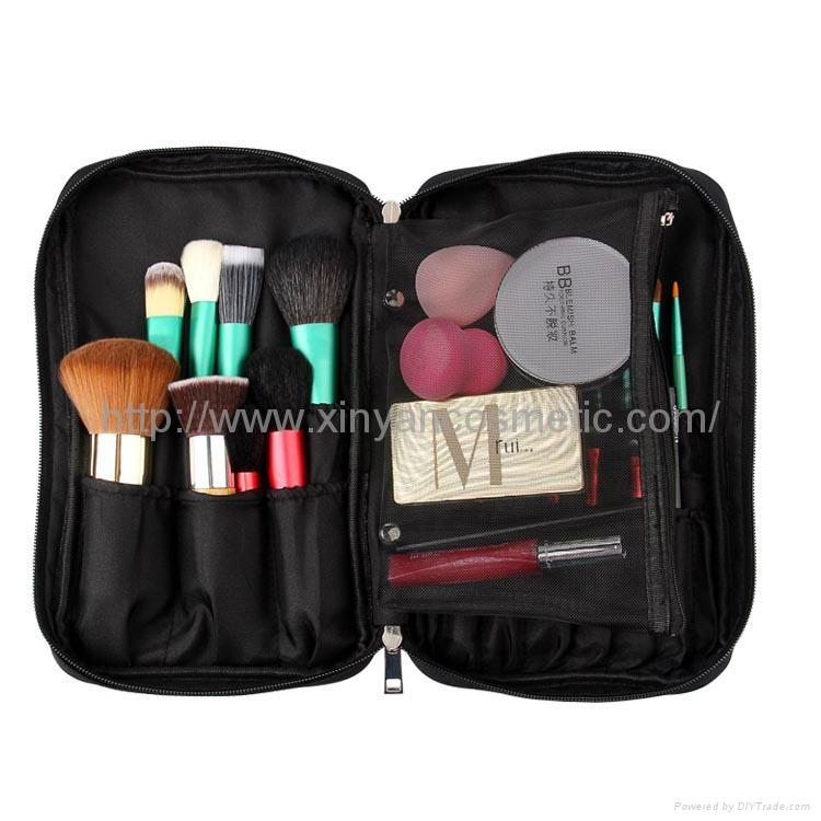 厂家OEM 便携款多功能大容量礼品化妆刷工具套装 1