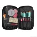 厂家OEM 便携款多功能大容量礼品化妆刷工具套装 2