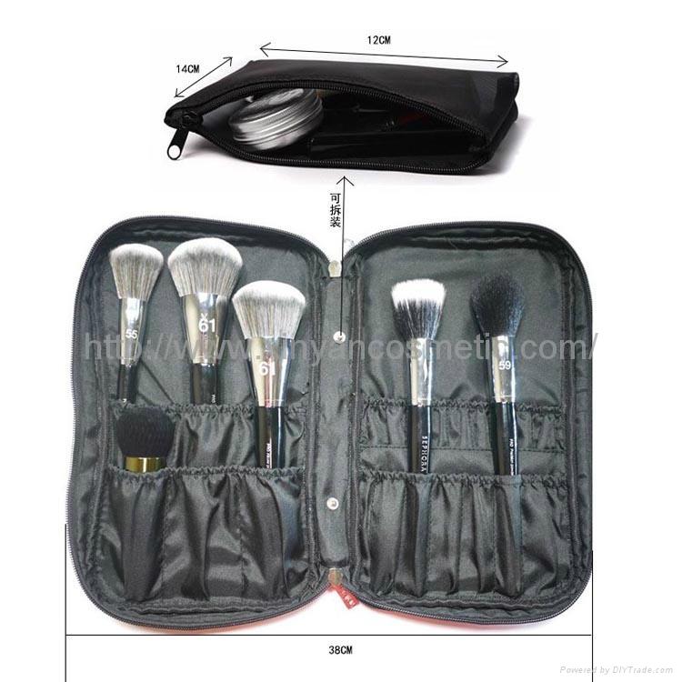 厂家OEM 便携款多功能大容量礼品化妆刷工具套装 6