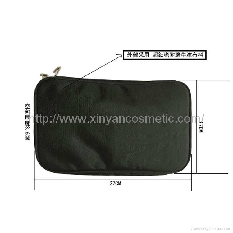 廠家OEM 便攜款多功能大容量禮品化妝刷工具套裝 7