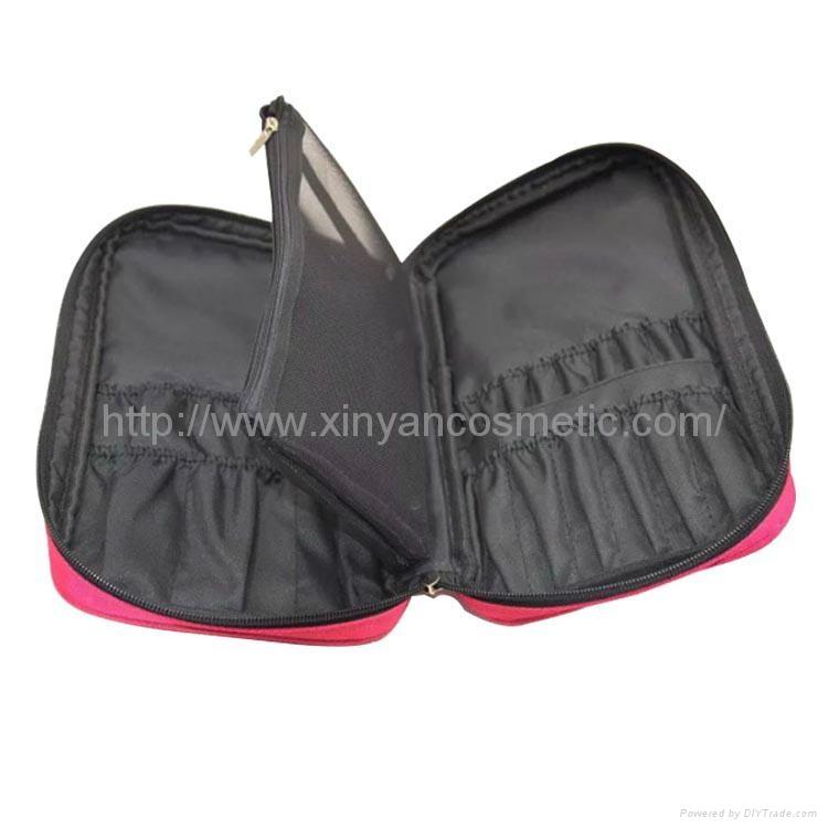 廠家OEM 便攜款多功能大容量禮品化妝刷工具套裝 9