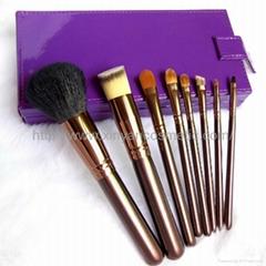 廠家 OEM 8支貂毛化妝刷盒裝 專業禮品套刷化妝工具