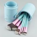 厂家新妍美化妆刷OEM化妆刷多色7支套刷+圆筒盒 3