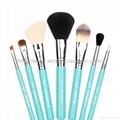 厂家新妍美化妆刷OEM化妆刷多色7支套刷+圆筒盒 4
