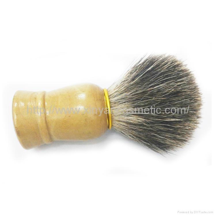 供应马毛剃须刷/胡刷/修面刷/泡沫刷男士必备适合特别浓密胡须刷子 2