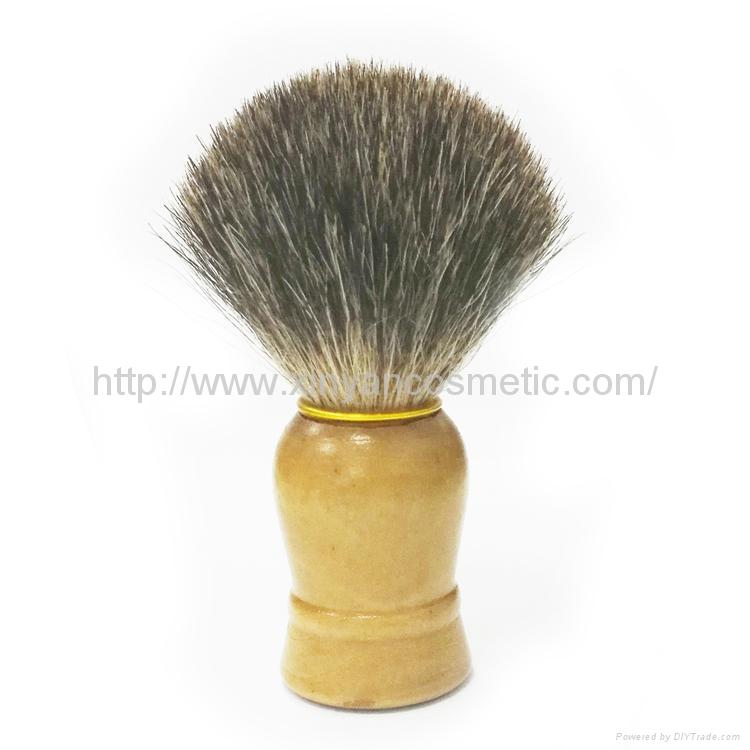 供应马毛剃须刷/胡刷/修面刷/泡沫刷男士必备适合特别浓密胡须刷子 1