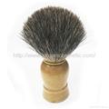 供应马毛剃须刷/胡刷/修面刷/泡沫刷男士必备适合特别浓密胡须刷子 3
