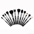 Manufacturer OEM/ODM animal hair full set of 29 professional cosmetic brush sets