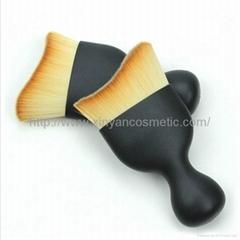 厂家来样定制干湿两用粉底化妆刷美妆工具酒杯形化妆扫