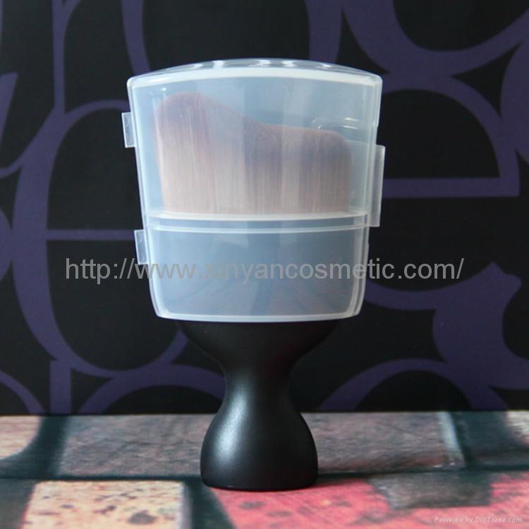 厂家来样定制干湿两用粉底化妆刷美妆工具酒杯形化妆扫 4