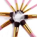 厂家供应10支新款木柄化妆刷 美妆化装工具 化妆扫套装 5