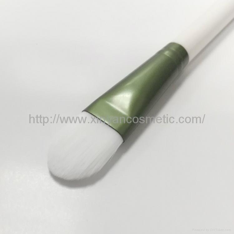 廠家供應精緻軟毛面膜刷 DIY面膜工具 美妝美容化妝掃 潔面刷  1