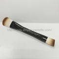 Manufacturer supply Black double face mask Brush cleansing Brush beauty brush