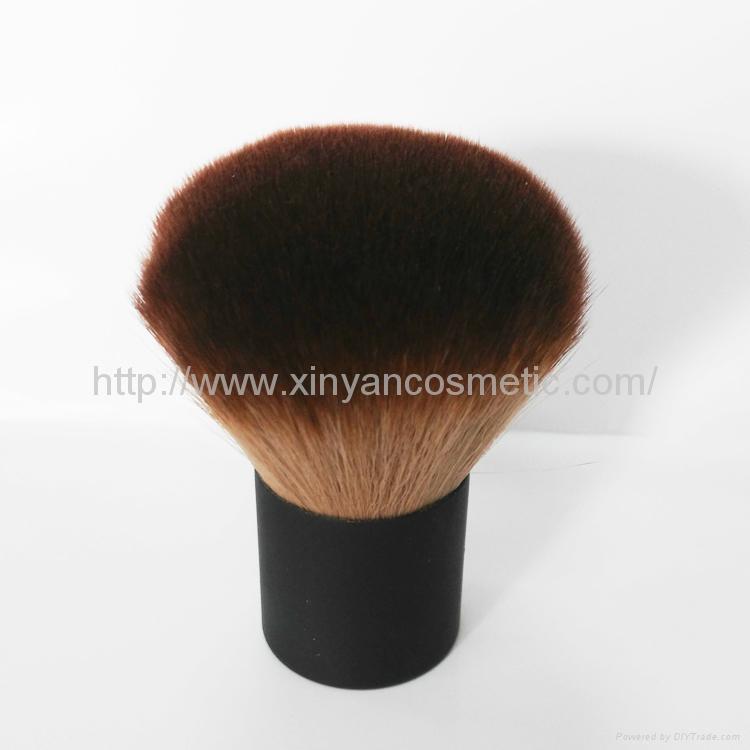 Manufacturer supply Man-made fiber Portable Foundation Brush Stand Blush Brush