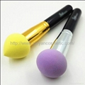 XINYANMEI Supply Colorful Cosmetic Powder Puff Can OEM/ODM