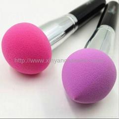 新妍美供应化妆粉扑刷 干湿两用化妆粉扑刷 可来样定制