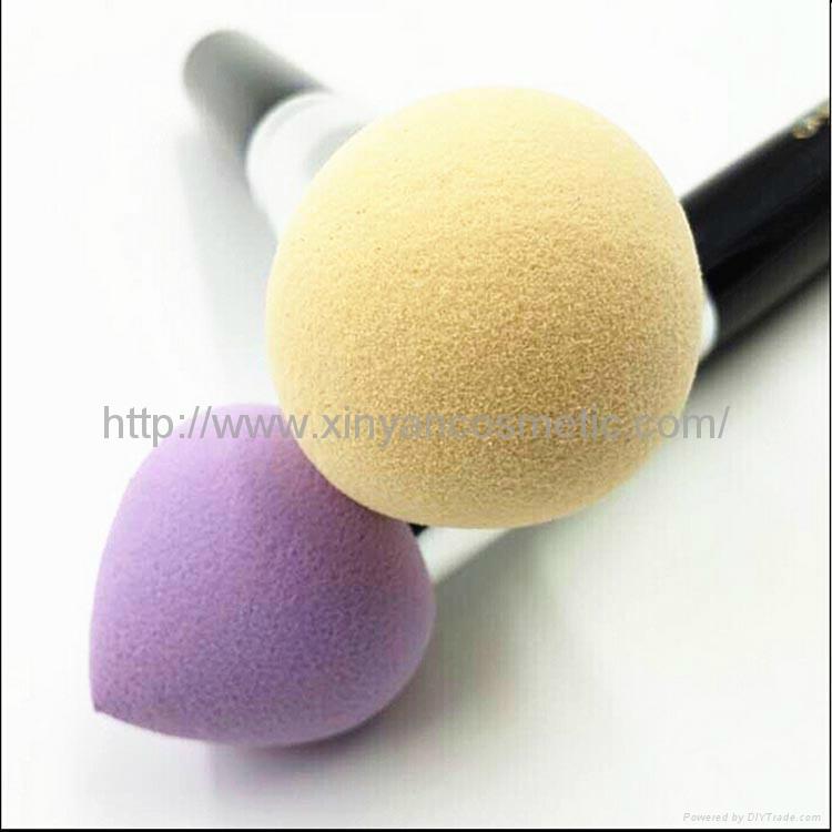 新妍美供应化妆粉扑刷 干湿两用化妆粉扑刷 可来样定制 4