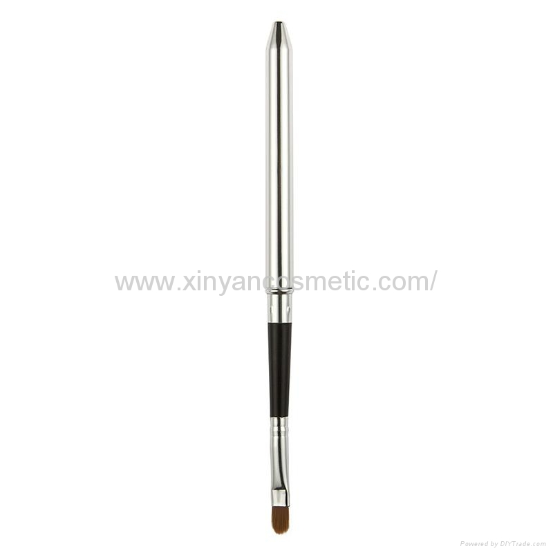 厂家OEM定制银色火箭筒便携款唇刷阿里巴巴批发店铺热销款 3