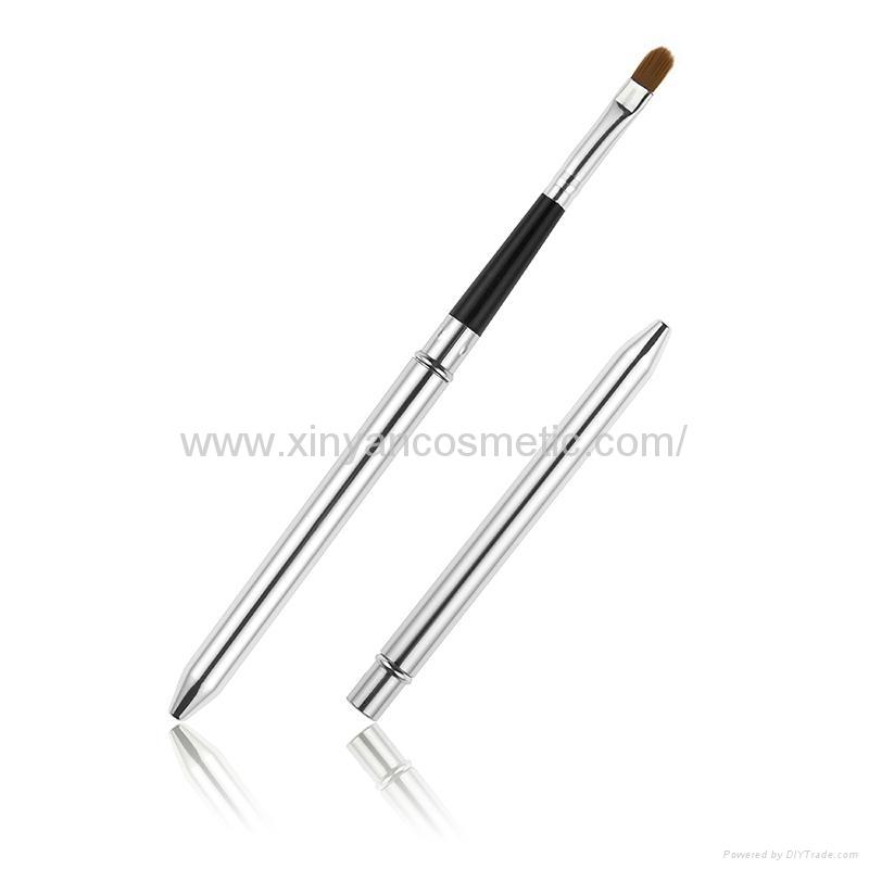 廠家OEM定製銀色火箭筒便攜款唇刷阿里巴巴批發店鋪熱銷款 5