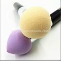厂家新妍美化妆刷供应可爱多色液体海绵头粉底刷