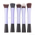 Manufacturer supply 8pieces Per Set Cosmetic Brush Tool With PU Bag Makeup Kit