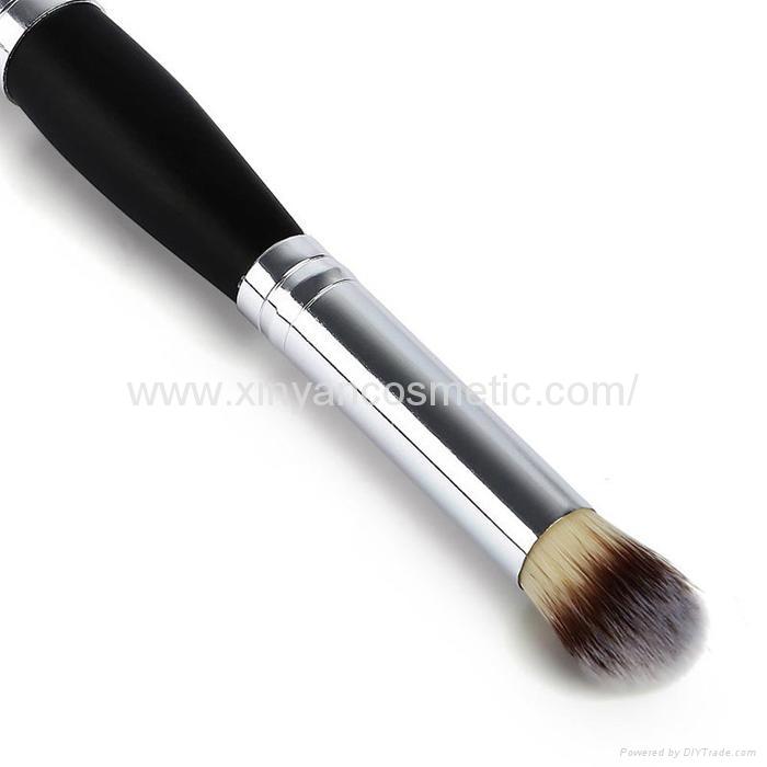 厂家供应木柄进口人造毛畅销眼影刷 礼品化妆刷 6