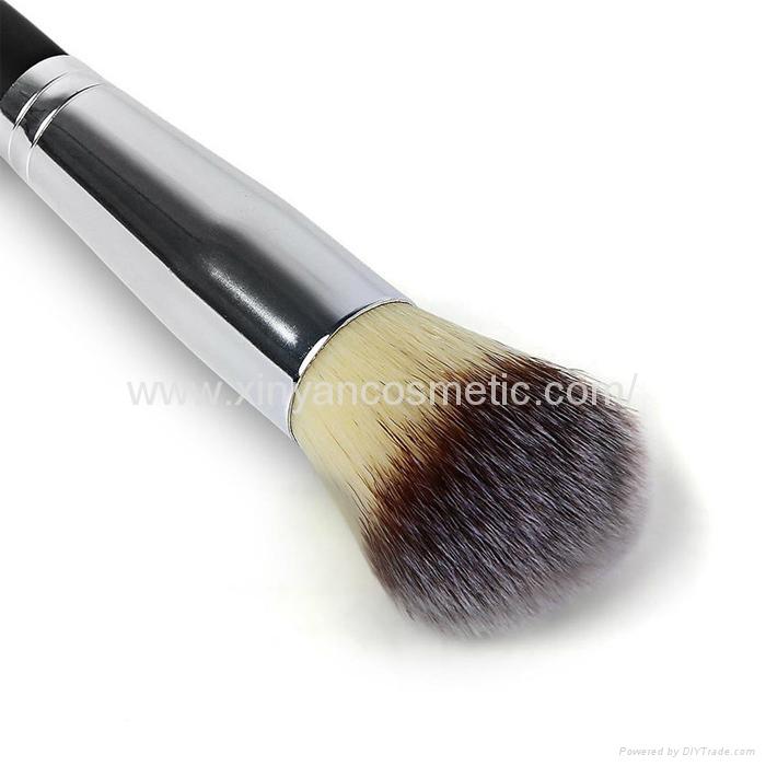 厂家供应木柄进口人造毛畅销眼影刷 礼品化妆刷 9