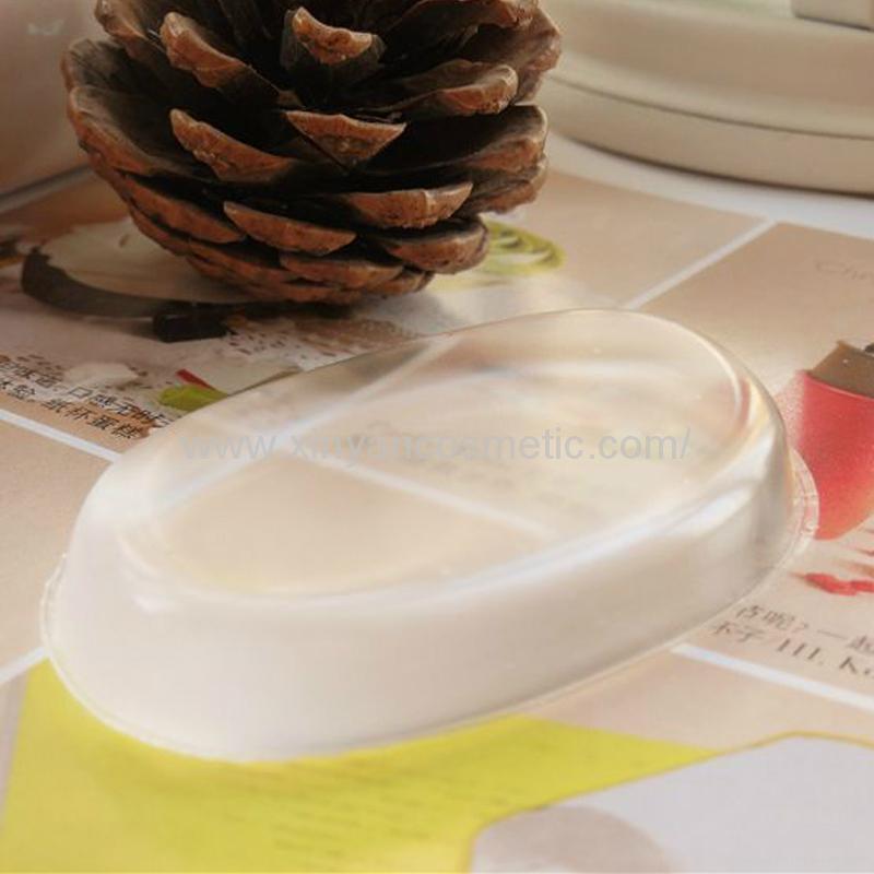 厂家供应透明硅胶粉扑不吃粉易清洗粉底液打底神器 5