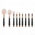 厂家供应高尔夫柄9支多功能化妆刷 美容美妆工具 化妆套扫 5