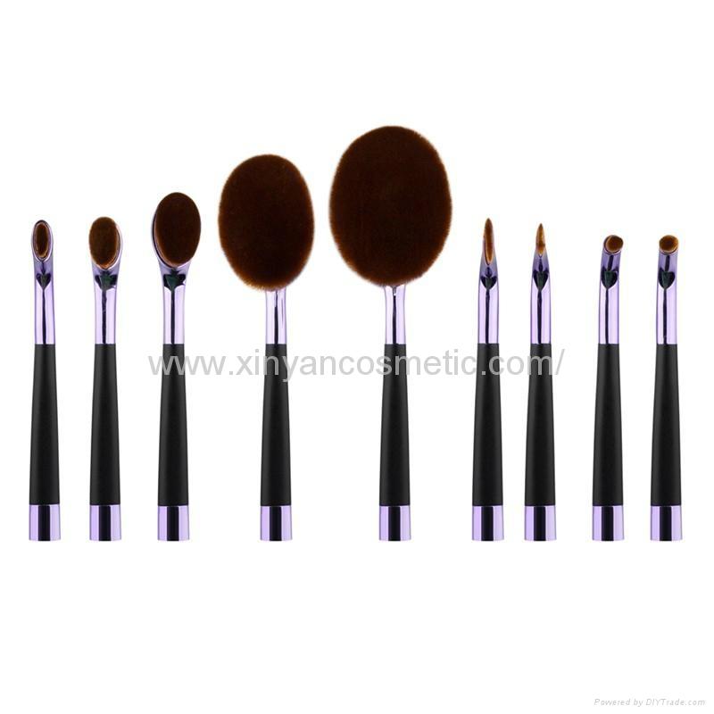 厂家供应高尔夫柄9支多功能化妆刷 美容美妆工具 化妆套扫 2