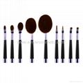 廠家供應高爾夫柄9支多功能化妝刷 美容美妝工具 化妝套掃 2